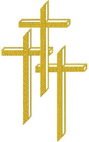 3 crosses head panel insert Youth Clip Art Youth Clip Art